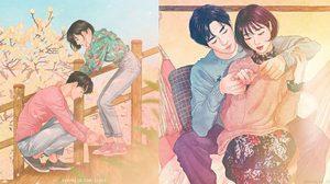 โมเมนต์อบอุ่นหัวใจ! 20 ภาพการ์ตูนคู่รัก ชวนเขิน หวานซึ้งยิ่งกว่าในซีรีส์
