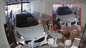 วัยรุ่นพังร้าน!! สาว อาร์เจนติน่า เผลอเหยียบคันเร่งจนรถ SUV พุ่งชนร้านอาหารเต็มๆ