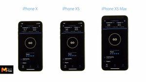 iPhone XS  Max ทำความเร็วการดาวน์โหลดผ่าน LTE ได้เร็วที่สุด