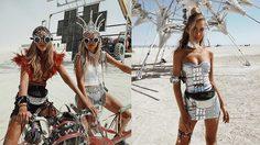 Burning Man 2018 เทศกาลคนคลั่งกับแฟชั่นหลุดโลกกลางทะเลทราย