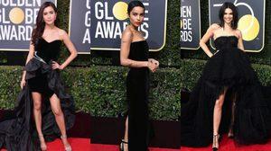 แฟชั่นชุดสีดําในงาน Golden Globe Awards 2018 เฉิดฉายกันสุดๆ