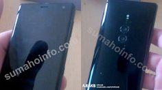 หลุดภาพ Sony Xperia XZ3 มาพร้อมกล้องหลังคู่ 19+12 ล้านพิกเซล