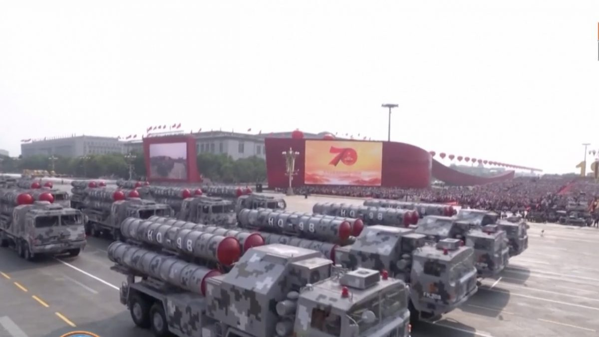 ยิ่งใหญ่ แสนยานุภาพกองทัพ 70 ปี วันชาติจีน