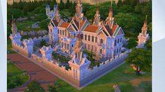 สุดยอด ! เกมเมอร์ฝรั่งสร้าง พระบรมมหาราชวัง ในเกมส์ The Sims 4