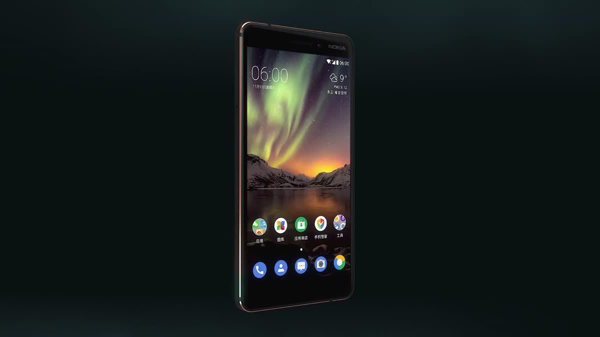 Nokia 6 ปี 2018 อัพขุมพลังใหม่มาพร้อมชิปประมวลผลที่แรงกว่าเดิม