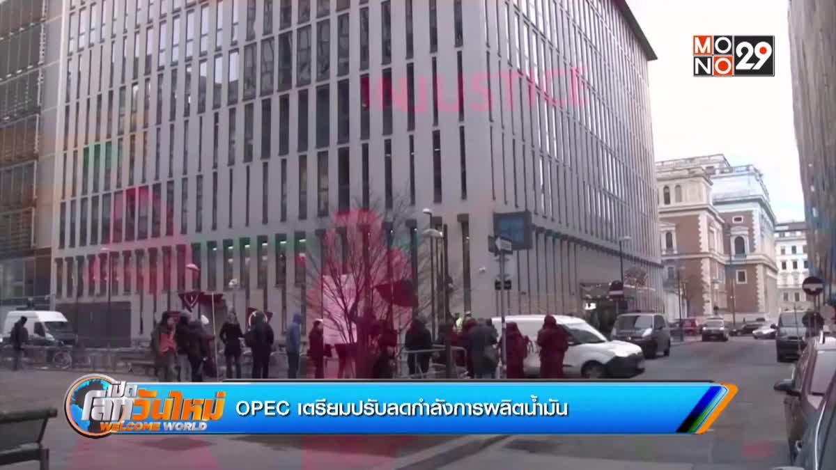 OPEC เตรียมปรับลดกำลังการผลิตน้ำมัน