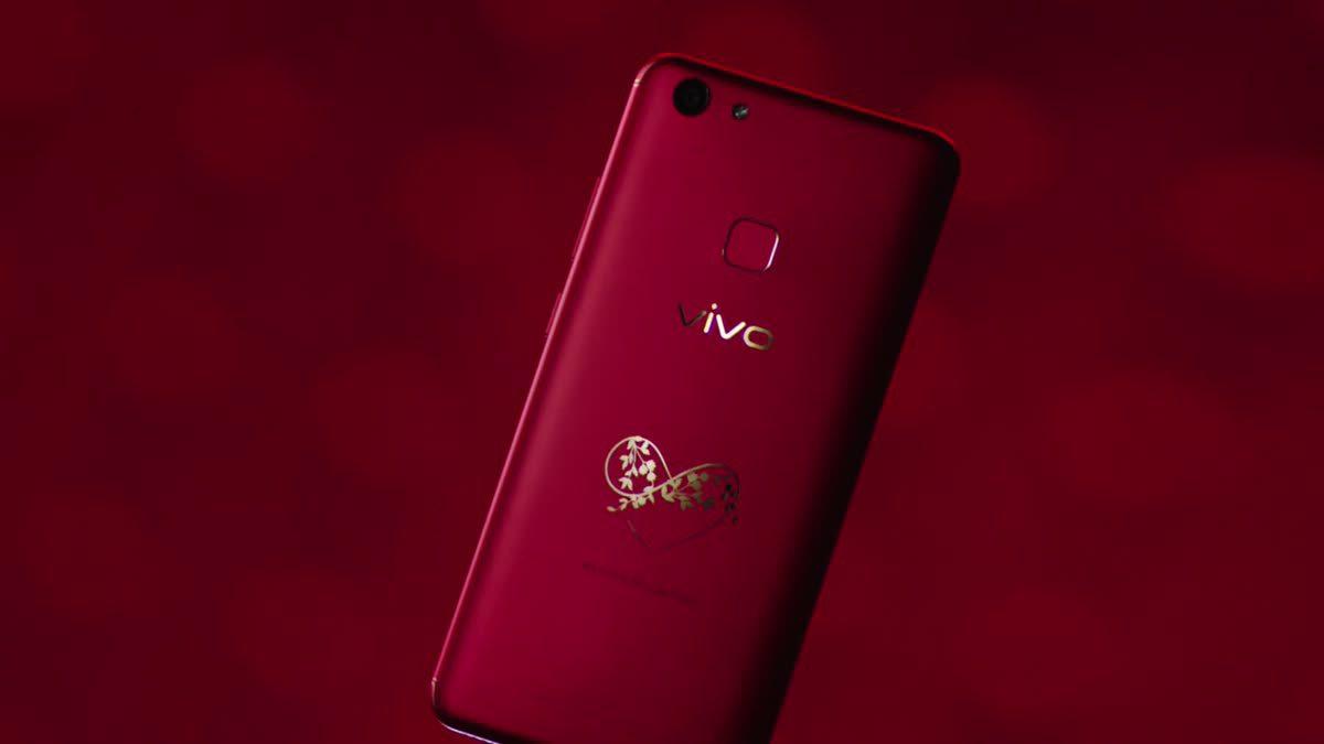 Vivo V7+ เปิดตัวสีแดงรุ่นพิเศษ Infinite Love ต้อนรับวันวาเลนไทน์