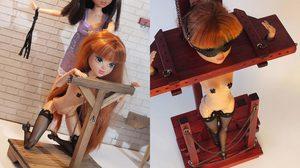 เปลี่ยน ตุ๊กตาบาร์บี้ เวอร์ชั่นน่ารักใสๆ ให้เป็นสาวซาดิสม์ชอบความรุนแรง