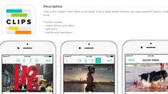 แนะนำแอพตัดต่อวีดีโอขั้นเทพ Clips Video Editor โหลดฟรี เวลาจำกัดสำหรับ iOS