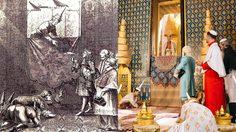 เชอวาลิเยร์ เดอ โชมองต์ คณะฑูตฝรั่งเศส เข้าถวายพระราชสาส์น แด่สมเด็จพระนารายร์มหาราช