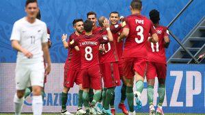 ผลบอล : คนละชั้น!! โปรตุเกส สอนบอล นิวซีแลนด์ 4-0 ซิวจ่าฝูงลิ่วรอบรองฯ คอนเฟดฯกลุ่มA