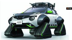 Nissan Juke มาด Snowmobile พร้อมลุยงาน Tokyo Auto Salon