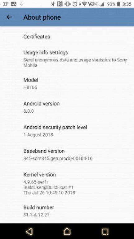 Sony Xperia XZ2 Premium ส่งเฟิร์มแวร์ใหม่ เพิ่มลูกเล่นกล้อง 2 โหมด