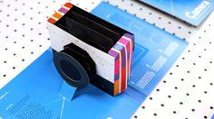 ไม่ธรรมดา!!!! จากหนังสือป็อปอัพกลายเป็นกล้องถ่ายรูปได้