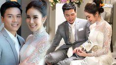 เปิดสตอรี่ งานแต่งขนมจีน – เคน คู่รักมินิมอล จัดงานเรียบง่าย เจ้าสาวสวยในชุดแบรนด์ไทย