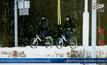 ผู้ลี้ภัยปั่นจักรยานไปนอร์เวย์