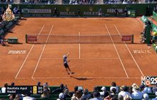 """""""นาดาล"""" พิชิตชัยลิ่ว 16 คนเทนนิสมอนติคาร์โล"""