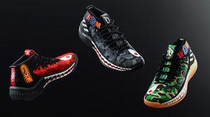 BAPE x adidas Dame 4 วางจำหน่าย 3 สีใหม่ในช่วง NBA All Star Weekend 2018