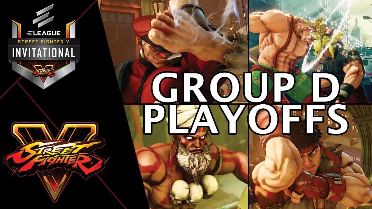 การแข่งขัน Street Fighter V Invitational 2018 | Group D [1/2]