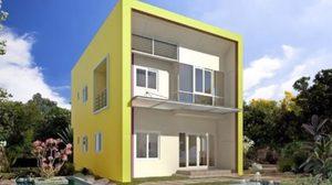 แบบบ้านสองชั้น 3 ห้องนอน 2 ห้องน้ำพื้นที่ใช้สอย 130 ตร.ม.