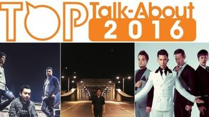 ไม่พลิกโผ! Potato, LABANOON นำทีมรับรางวัล MThai Top Talk-About 2016