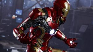 ปล่อยของ!! 1/4 Avengers: Age of Ultron Iron Man Mark XLIII Collectible Figure!!