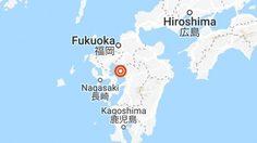 เกิดแผ่นดินไหว จ.คูมาโมโตะ เกาะคิวชู ขนาด 5 แมกนิจูด