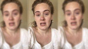 อิดโรย! Adele โพสวิดีโอ 'ขอโทษที่ต้องแคนเซิลคอนเสิร์ต'