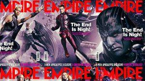 มนุษย์กลายพันธุ์เตรียมล่มสลาย ในตัวอย่างใหม่ X-Men: Apocalypse