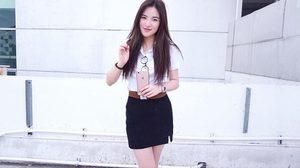 ยิ่งโตยิ่งสวย 10 ภาพลุคใสๆ ชุดนักศึกษาของสาวปันปัน สุทัตตา