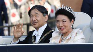 ประมวลภาพญี่ปุ่นจัดพระราชพิธีขบวนเสด็จฉลองจักรพรรดิขึ้นครองราชย์