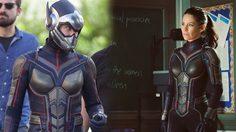 เอวานเจลีน ลิลลี ใส่ชุด The Wasp เต็มตัว ในภาพล่าสุดจากกองถ่าย Ant-Man and the Wasp