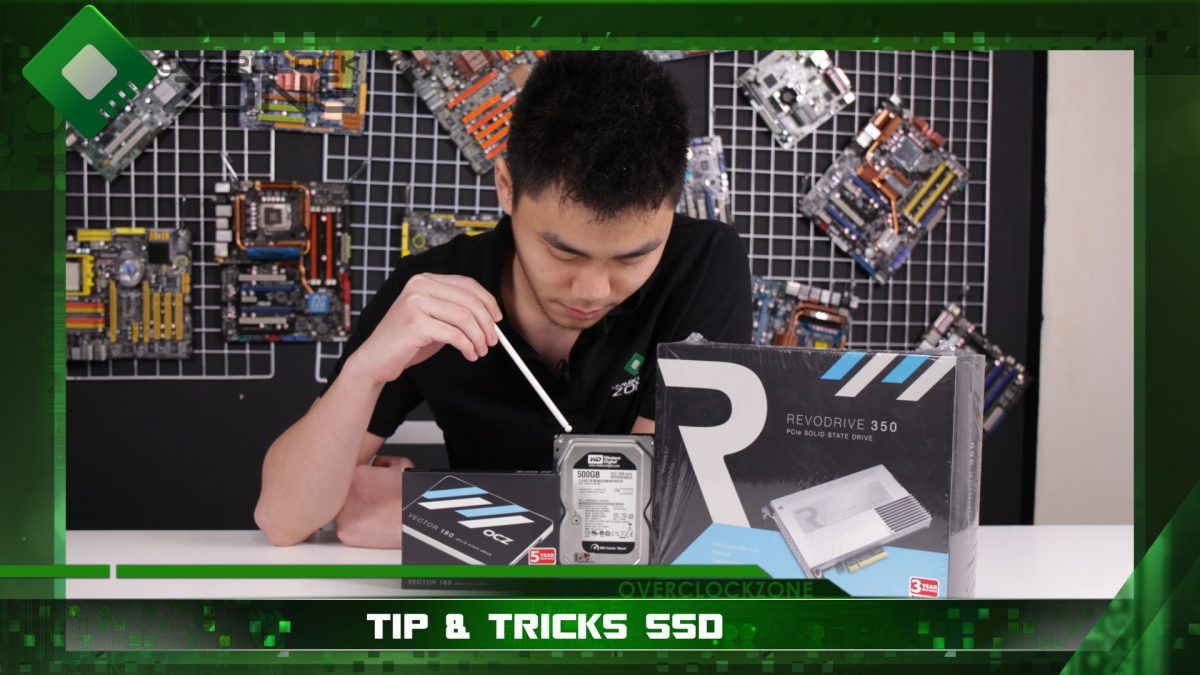 SSD Tips&Tricks วิธีการเลือกซื้อ ข้อดี-ข้อเสีย และ หลักการทำงาน