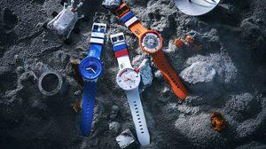 """SWATCH พาพุ่งทะยานสู่จักรวาล """"Space Collection""""แรงบันดาลใจจากชุดนักบินอวกาศของ NASA"""