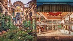 ศิลปะภาพตึกร้าง มีเสน่ห์น่าค้นหา และสวยกว่าตอนที่มีคนใช้งานซะอีก