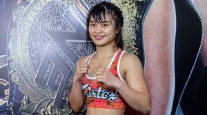 แสตมป์ มั่นใจเตรียมตัวมาดี พร้อมสอยแชมป์มวยไทย ONE Championship กลับประเทศ