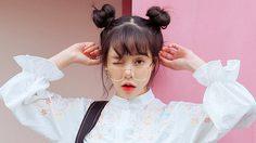 ทรงผมน่ารักของสาวเกาหลี