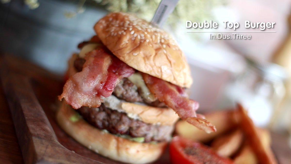 In.Dus.Three ร้านอาหารสไตล์ Loft เปิดใหม่เลี่ยงเมืองปากเกร็ด