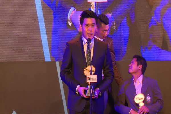 ประกาศรางวัล The Most Top Talk-About Sportsman 2015