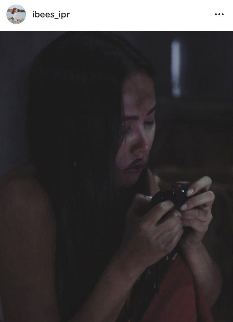 ญาญ่า ฉากกินหนู ในละคร กลิ่นกาสะลอง