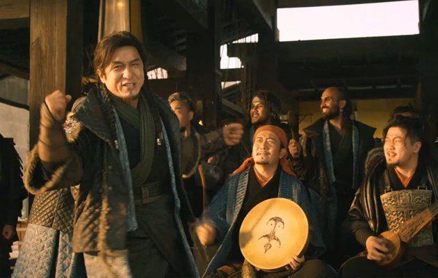 ฟังกันสด ๆ เฉินหลง โชว์ลูกคอร้องเพลงใน Dragon Blade