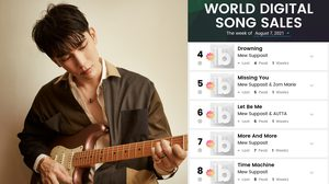 TPOP ดังระดับโลก! Billboard Charts & Forbes ชื่นชม มิว ศุภศิษฏ์ ศิลปินไทยคนแรกติดชาร์ต 5 เพลงรวด