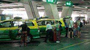 กลุ่มแท็กซี่สุวรรณภูมิ-ดอนเมือง ขู่หยุดวิ่งวันนี้ จี้ภาครัฐเพิ่มค่าเซอร์ชาร์จ