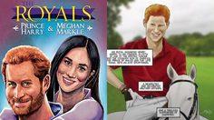 พระประวัติเจ้าชายแฮร์รี่ และ เมแกน ถูกถ่ายทอดในฉบับหนังสือการ์ตูน
