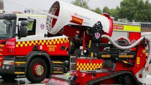 อย่างกับออโต้บอท! หุ่นยนต์นักดับเพลิง เปิดตัวแล้ว ในออสเตรเลีย!