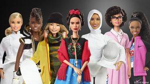 คอลเลกชั่นใหม่!! ตุ๊กตาบาร์บี้ เชิดชู ฮีโร่หญิง ผู้เป็นแรงบันดาลใจให้คนทั่วโลก