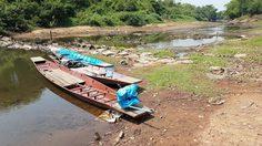 'แม่น้ำชี' ลดระดับต่อเนื่องชาวโคราชหวั่นขาดแคลน