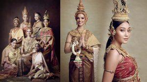 นิโคลีน และทีมมิสเวิลด์2018 ถ่ายทอดความงดงาม ผ่านเอกลักษณ์ชุดไทย