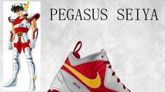 ว่อนเน็ต รองเท้า Nike Saint Seiya ที่แท้ภาพตัดต่อ