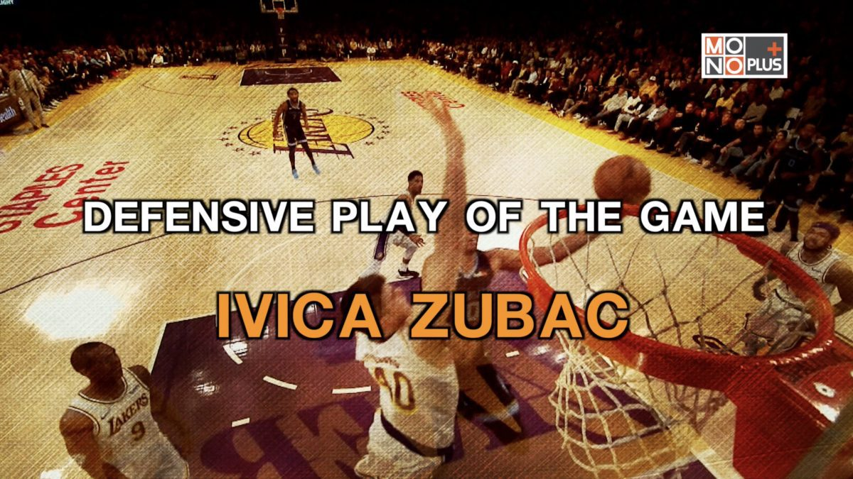 DEFENSIVE PLAY OF THE GAME IVICA ZUBAC